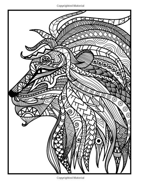 animals coloring book relaxation designs books 702 best images about animal coloring pages for adults on