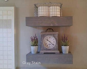 wooden bathroom shelving bathroom shelves etsy