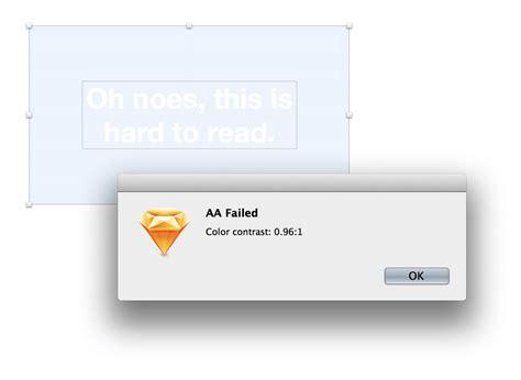 color contrast analyzer sketch les plugins indispensables