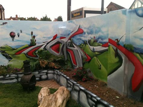 garden graffiti for your home zasedesign
