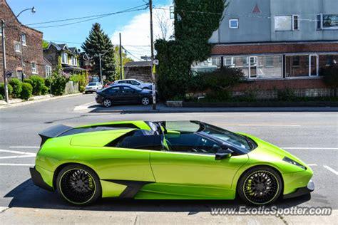 Lamborghini Of Toronto Lamborghini Murcielago Spotted In Toronto Canada On 05 06