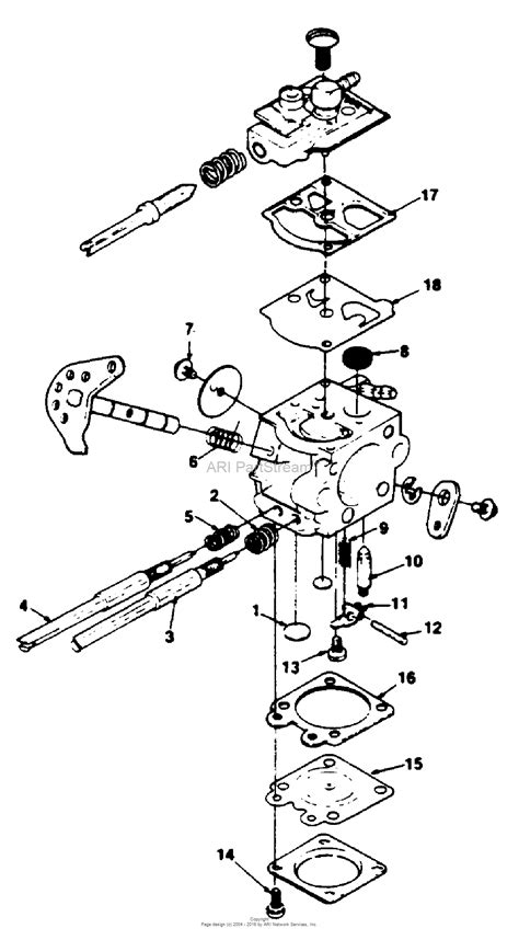 walbro carb diagram homelite 330 chain saw ut 10575 parts diagram for walbro
