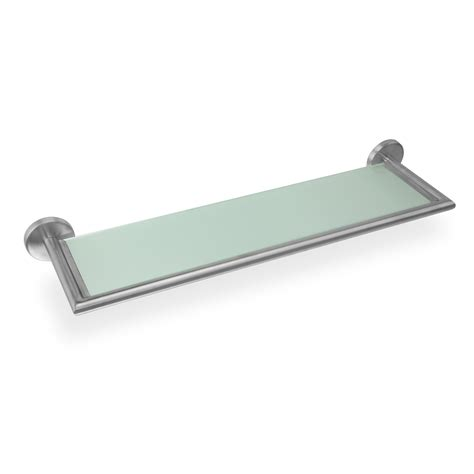 badezimmer regal ablage edelstahl bad ablage regal glas badregal glasablage