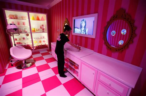life size barbie doll house photos of the ridiculous life sized barbie dreamhouse