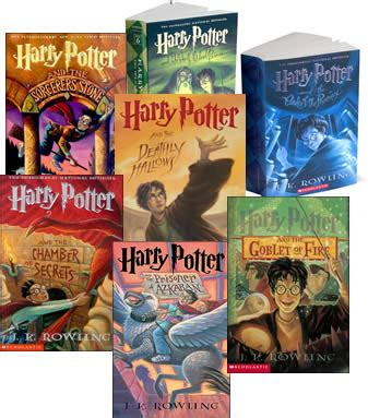 picture of harry potter books banned book profile the harry potter series colin d smith