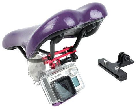 Tmc Jaws Flex Cl Mount For Gopro Xiaomi Yi Hr223 tmc mount kamera aksi kursi sepeda aluminum hr401 bk