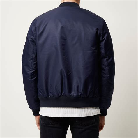 Jaket Navy blue jacket navy coat nj