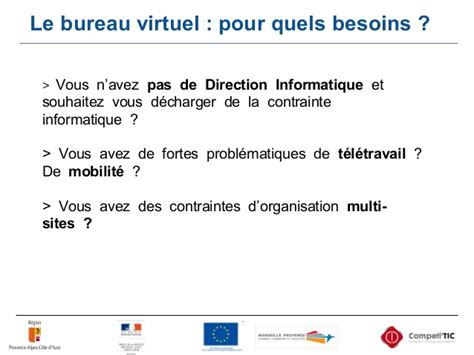 le bureau virtuel competitic bureau virtuel acessible en mobilite numerique