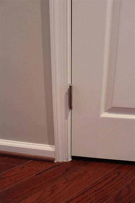 Door Gap I Want To Narrow This Gap It Is Now 5 16 And I Interior Door Gap Fix