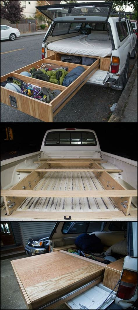 truck bed organizer diy 25 best ideas about truck bed cer on pinterest truck