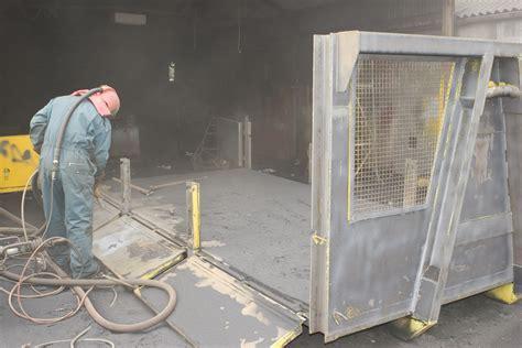 Shot Blasting   Shirley Industrial Painters