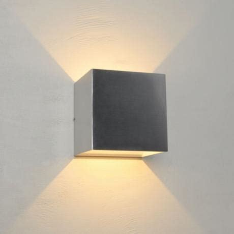 Qb Led Wall Sconce Bruck Qb 4 1 2 Quot High Brushed Chrome Led Wall Sconce 11p30 Www Lsplus