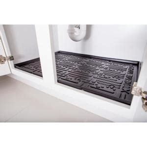 kitchen cabinet mats xtreme mats black kitchen depth under sink cabinet mat