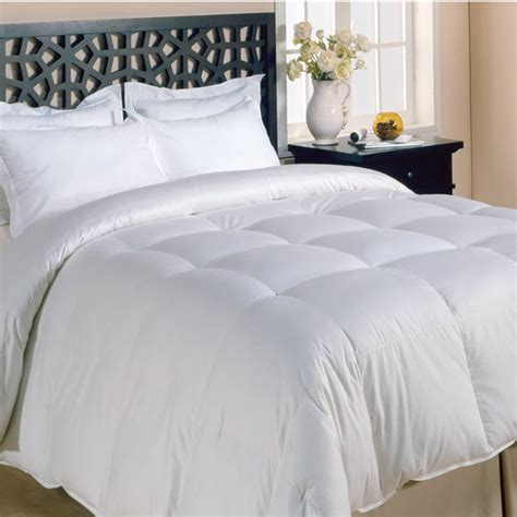 what is a down comforter made of all season premier microfiber down alternative comforter