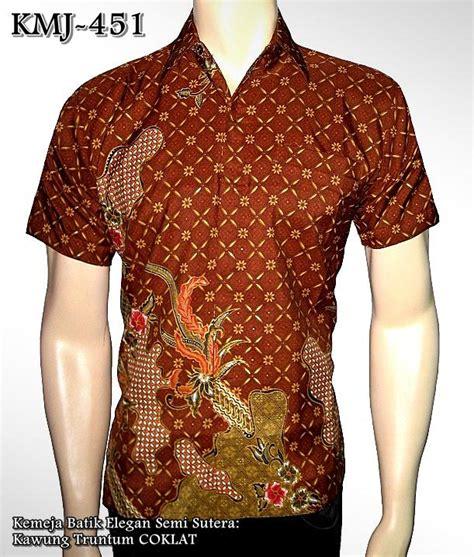 Kemeja Batik Sogan Kawung batik koko batik rajapadmi