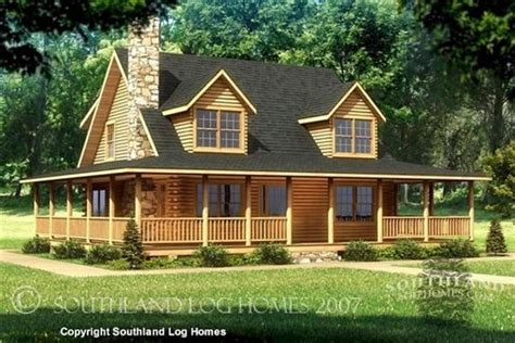 log cabin plans with wrap around porch my dream home i want a log cabin house beaufort 1750 sq