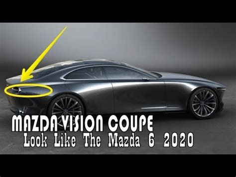 Mazda 6 Vision Coupe 2020 by Luck This Mazda Vision Coupe Concept This Car Will