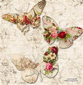 Roses Essay by Printable Digital Butterfly Tags Roses Scrapbooking Journals