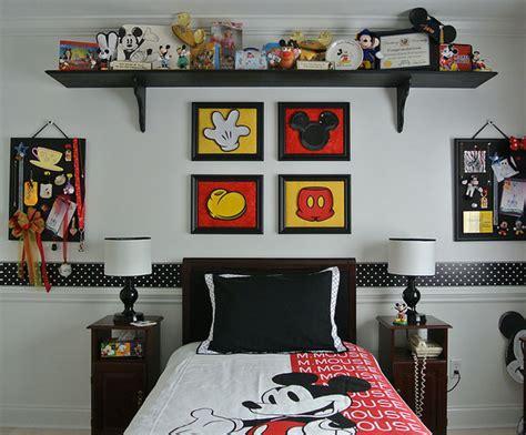 chambre mickey mouse la chambre d enfant mickey mouse retro momes