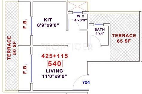 540 sq ft floor plan 540 sq ft 1 bhk 1t apartment for sale in platinum group