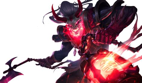imagenes png league of legends league of legends blood moon thresh render by