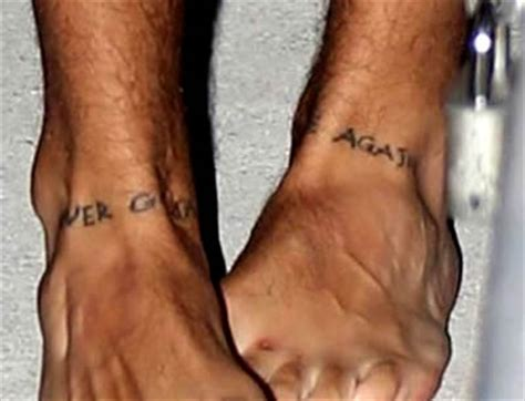harry styles tattoo on his leg harry styles foot tattoos may inspire justin bieber to