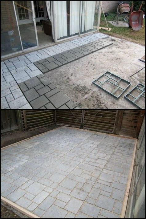 Cost To Build A Concrete Patio by 17 Best Ideas About Patios On