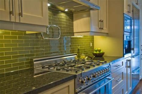 Alley Kitchen by Green Tiles Kirstie Alley And Tile On
