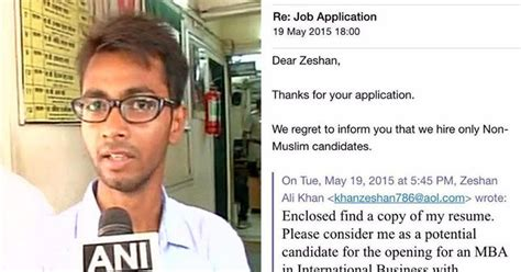 Phd Mba Career Position Atlanta by Mba Graduate Denied For Being Muslim Unmasks The