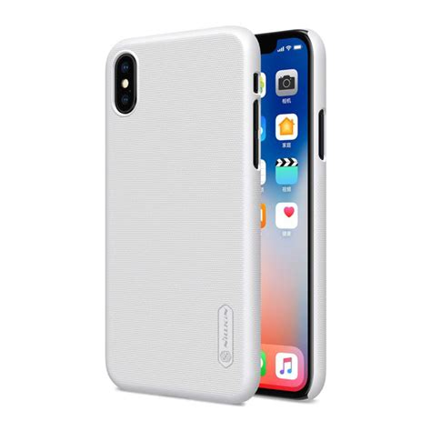 Nillkin Frosted Iphone X iphone x nillkin frosted shield cover 綷 綷 綷
