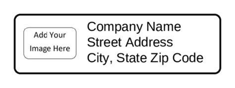 Return Address Label Add Your Image Label Templates Ol25 Onlinelabels Com Return Address Labels Free Template