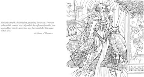 george r r martin of thrones coloring book the official a of thrones coloring book by george r