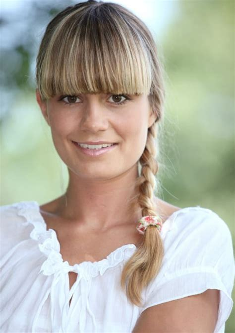 blunt bangs hairstyles blonde images 11 charming long blonde hairstyles for women 2014 pretty