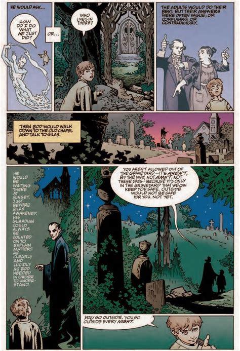 The Graveyard Book Graphic Novel Single Volume neil gaiman previews the graveyard book vol 1 graphic novel comics news digital