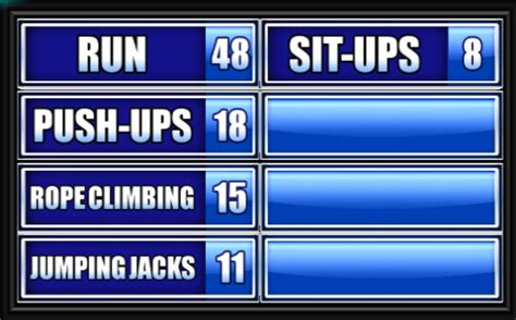 Name Something A High School Student Might Do In Gym Class Family Feud Classroom