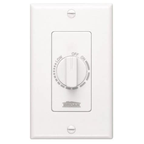 variable speed bathroom exhaust fan nutone 57w variable speed wall control for ventilation