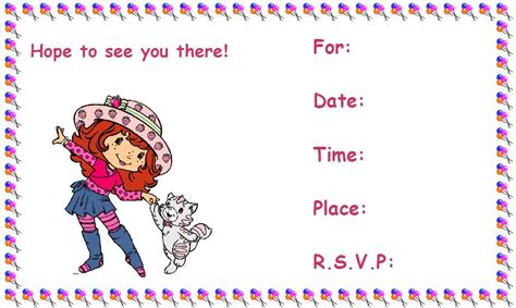 printable birthday invitations 8 coloring