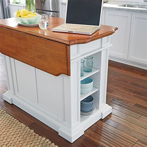 home styles 5002 94 kitchen island white and distressed