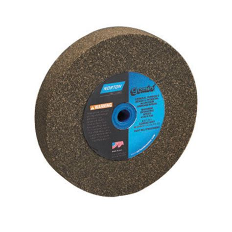 bench grinder wheel types airgas nor07660788286 norton 174 8 quot x 1 quot x 1 quot 36 46 grit