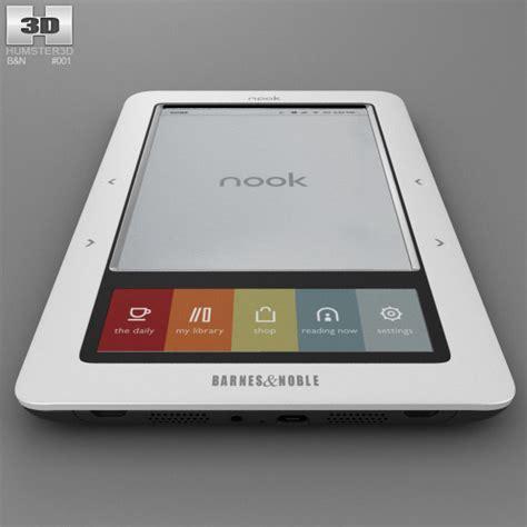 Barnes And Noble Nook Models barnes noble nook classic 3d model humster3d