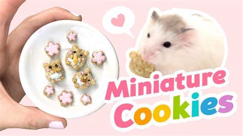 Diy Hacks Youtube by Diy Miniature Edible Cookies For Hamsters Cute Asmr