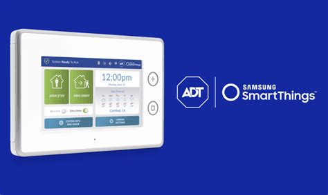 samsung smartthings and adt for home security systems pc