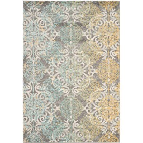 Safavieh Ls by Safavieh Evoke 4 X 6 Power Loomed Rug In Gray And Ivory