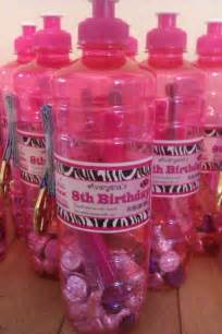 8 Year Favors by Avaryana S Gymnastics 8th Birthday Favors Water
