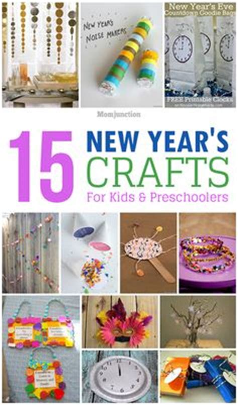 new year for preschoolers new year s hats and printables on