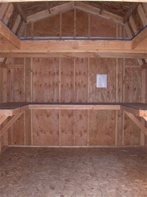 Shelving Shed by California Custom Sheds Shelving