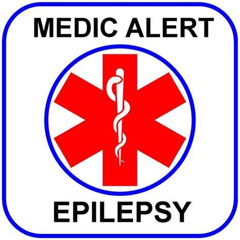 square alert medic alert epilepsy temp alert id