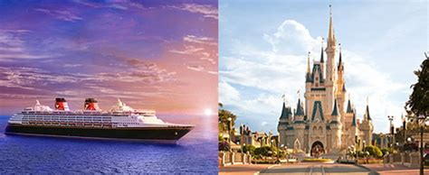 7 day land and sea package disney disney cruise and disney world from 789
