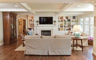 Living Room Layout With Fireplace And Tv On Opposite Walls Hanging Your Tv The Fireplace Yea Or Nay Driven