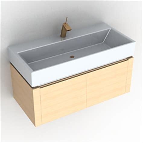 Kitchen Wash Basin Models 3d Sanitary Ware Wash Basin N130811 3d Model Gsm